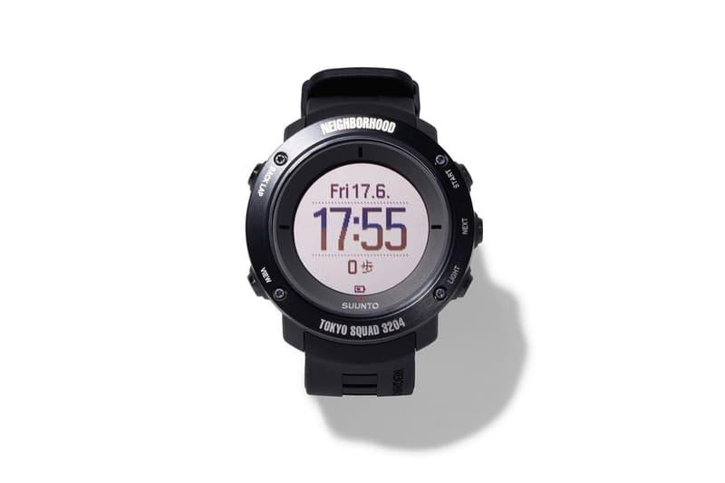 粗獷機能-NEIGHBORHOOD x SUUNTO 推出聯乘腕錶