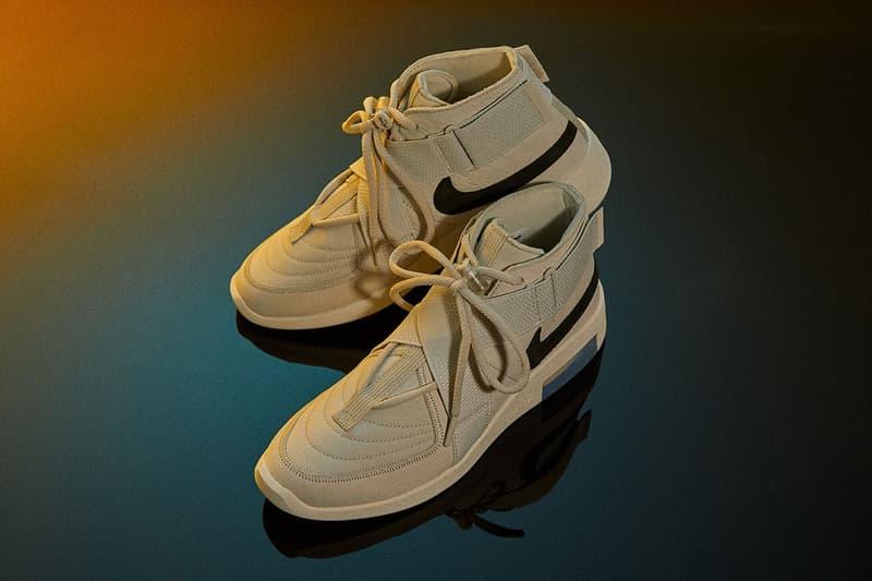 搶先預覽 Nike Air Fear of God Raid 全新配色「Light Bone」