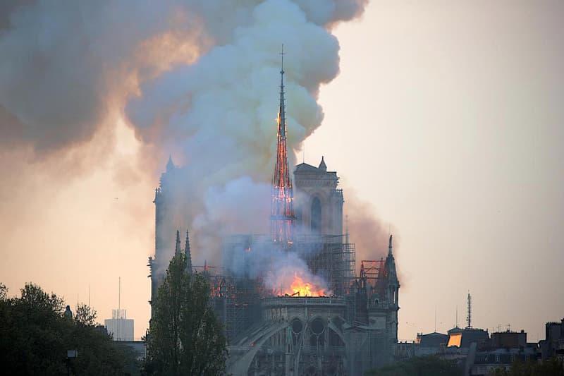 受損嚴重!擁有 800 多年歷史的巴黎聖母院遭遇突發大火