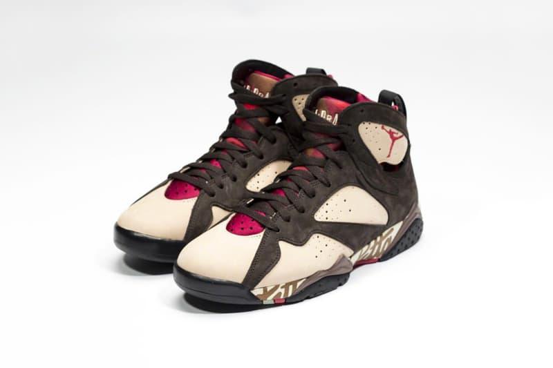 率先近賞 Patta x Air Jordan 7 全新聯乘鞋款