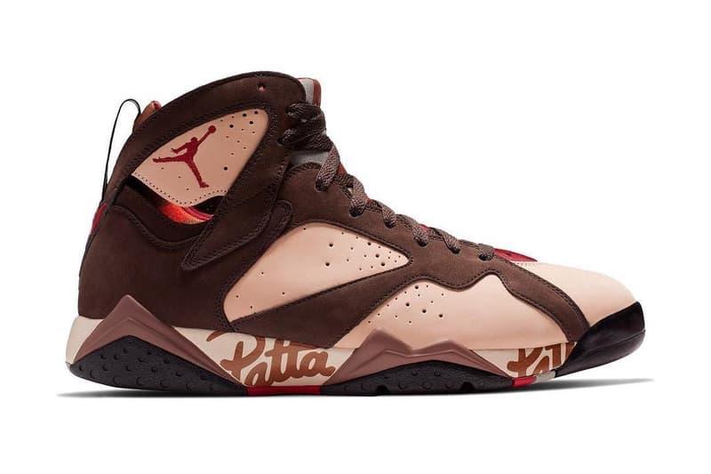 搶先預覽 Patta x Air Jordan 7 聯乘鞋款