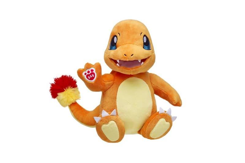 Build-A-Bear 推出 Pokémon 特別版限定玩偶系列