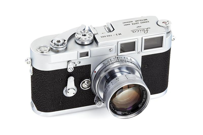收藏迷注意!多台極罕 Leica 相機即將展開拍賣