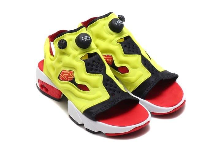 Reebok Instapump Fury 涼鞋版本釋出全新配色
