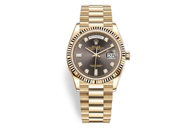 Rolex 全新 Day-Date 36 18ct Gold 錶型發佈