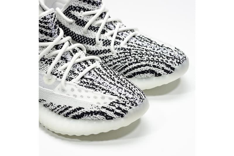 YEEZY BOOST 350 V2 全新版本「Zebra」配色 Sample 曝光