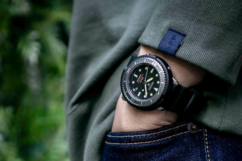 SEIKO 與 LOWERCASE 聯合推出「Solar Tuna」PROSPEX 潛水腕錶