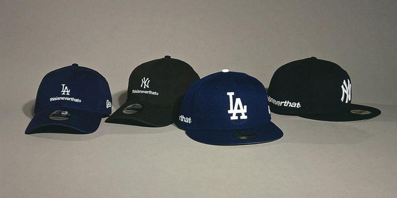 thisisneverthat x New Era 全新聯乘 9TWENTY & 59FIFTY 帽款系列發佈