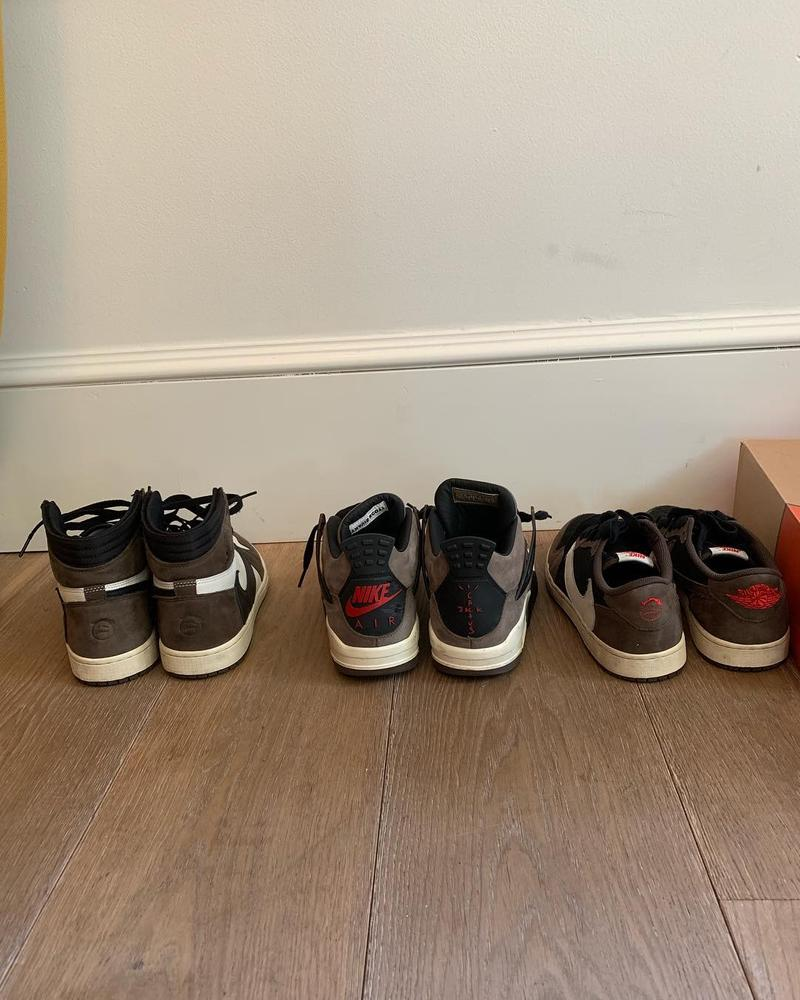 Travis Scott x Nike 全新聯乘 Air Force 1 發售日期曝光