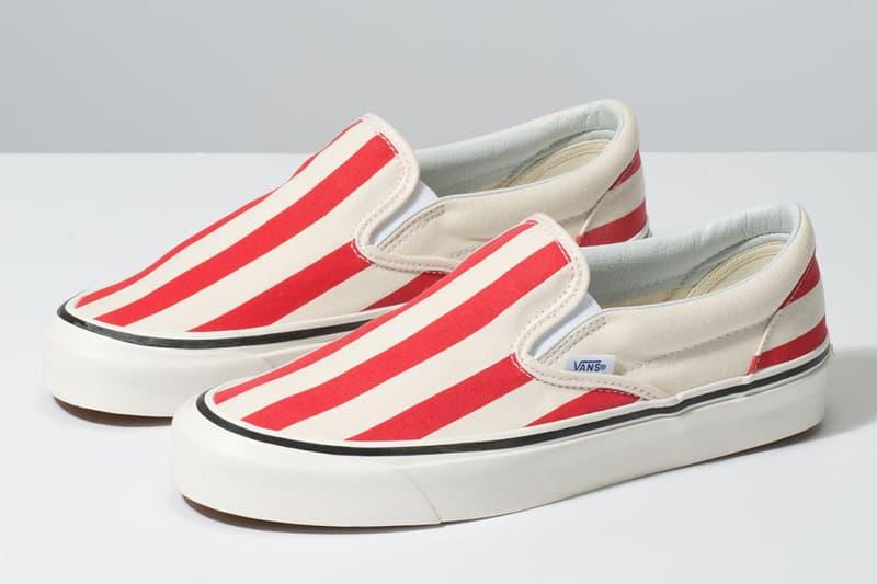 春季紅藍綠-Vans 推出棒棒糖果配色系列鞋款