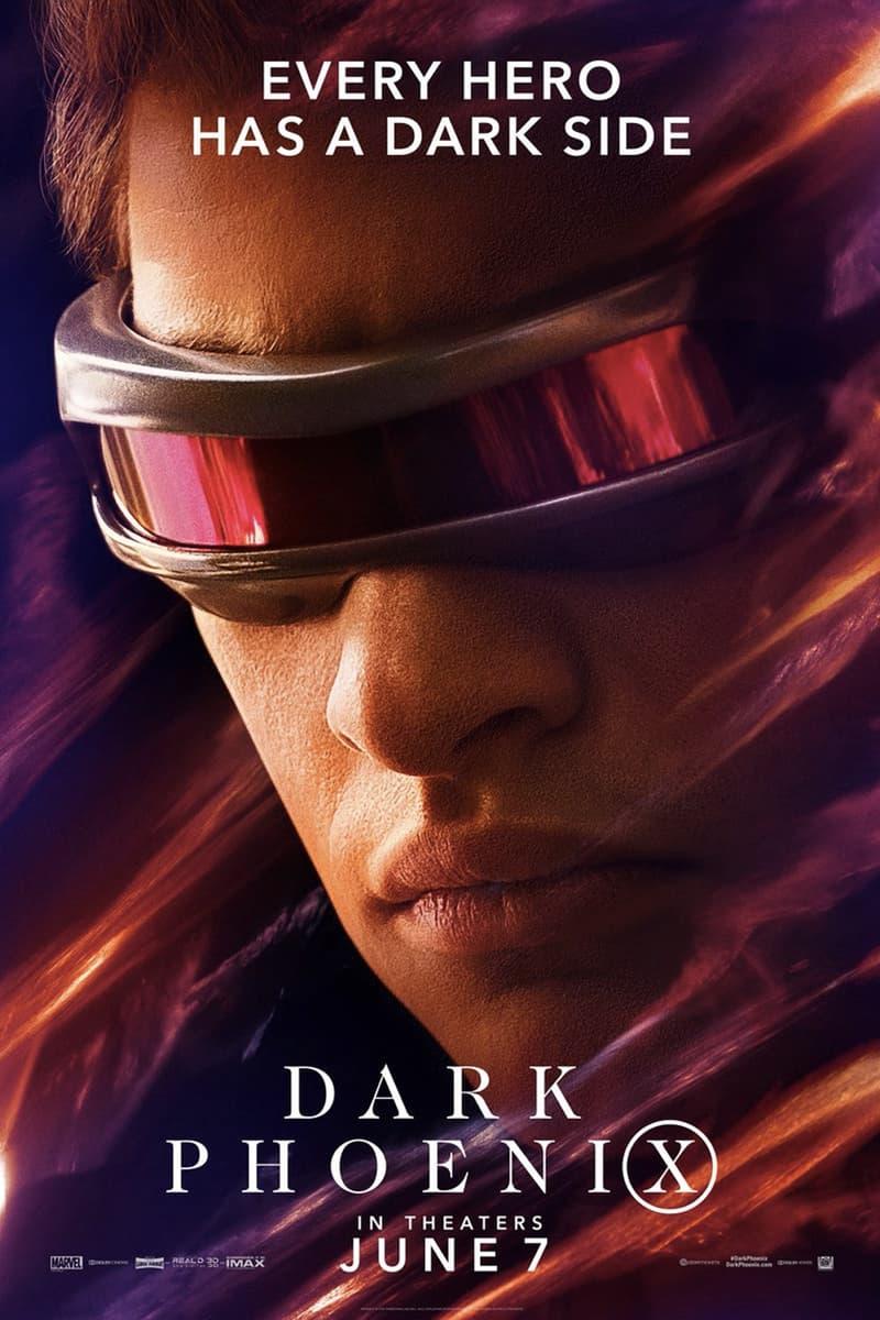 英雄・黑暗面爆發!《X-Men: Dark Phoenix》最新電影角色海報正式發佈
