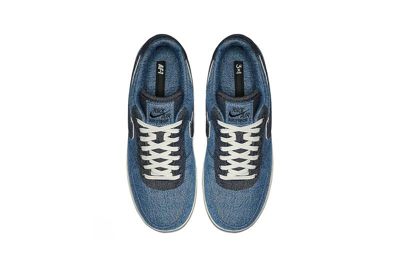 3×1 x Nike Air Force 1「Denim」聯乘系列發售詳情公開