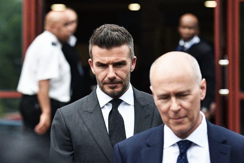 被判罪成-David Beckham 因駕駛時玩手機被停牌半年