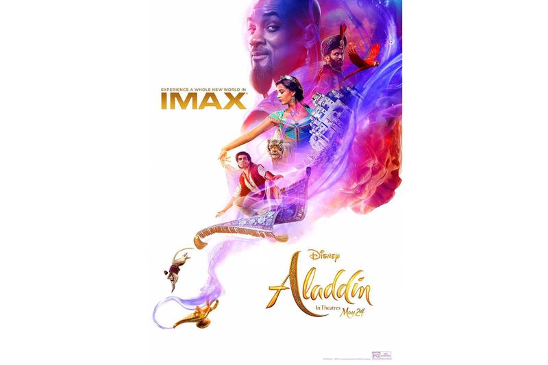 Disney《阿拉丁》真人版電影最新 IMAX 版本海報釋出