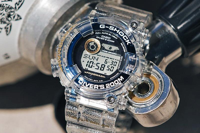 透視海洋之藍-G-Shock x I.C.E.R.C. 攜手打造別注 Frogman 手錶