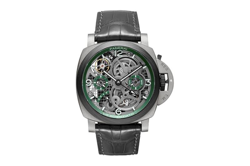 Panerai 全新陀飛輪 Lo Scienziato Luminor Tourbillon GMT 手錶登場