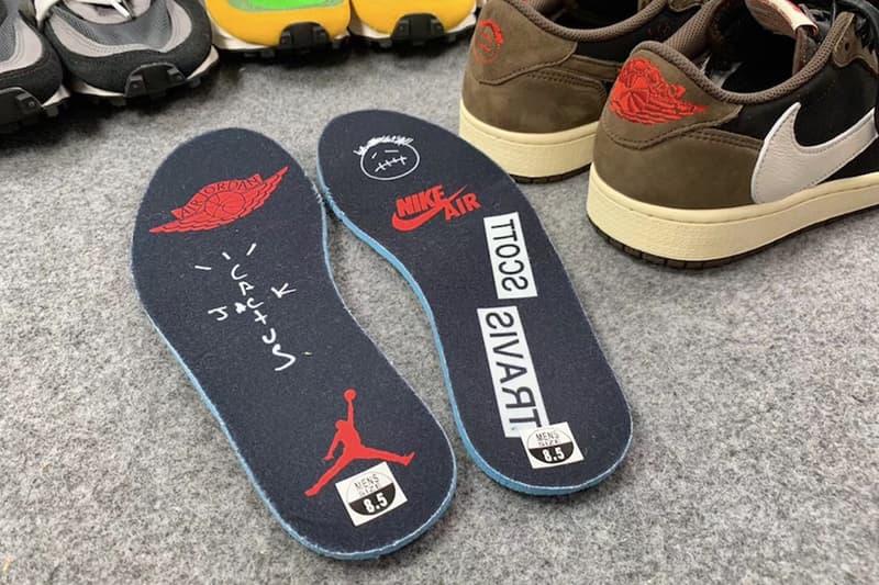 Travis Scott x Air Jordan 1 低筒版本網上細節圖片曝光!?
