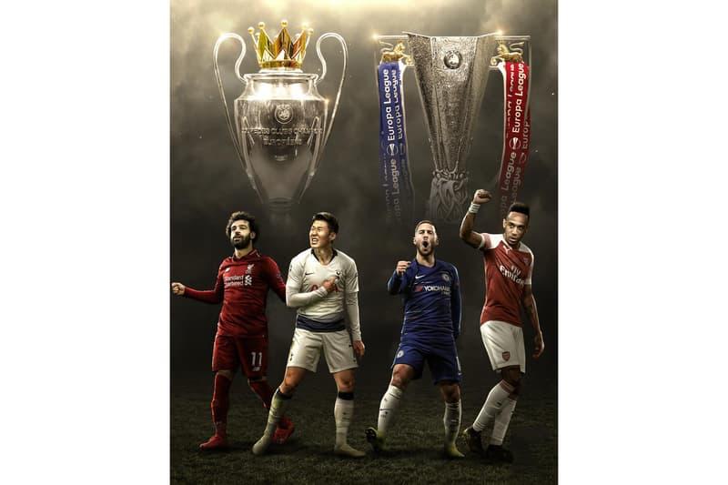 史無前例!四支英超球隊包攬歐冠和歐聯決賽名額