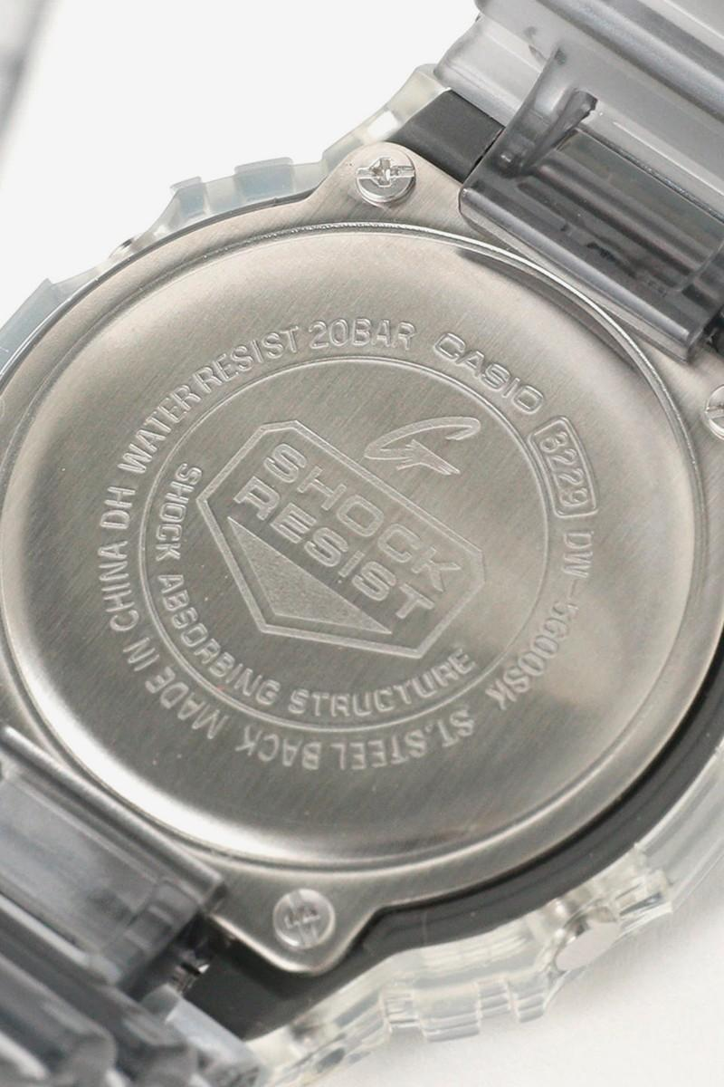 BEAMS x Casio 全新聯乘「Clear Skeleton」G-SHOCK 錶款發佈
