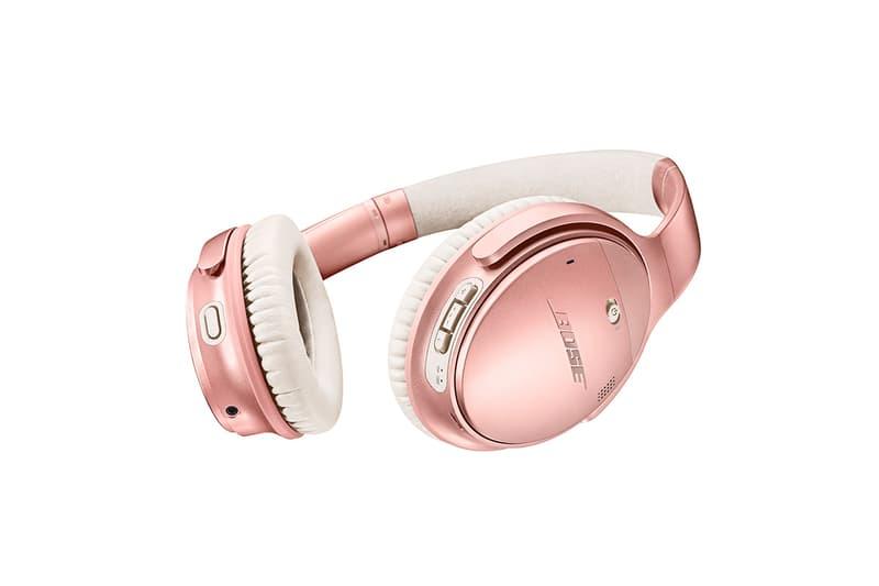 高調之奢華-Bose 推出玫瑰金限量版 QC35II 無線耳機