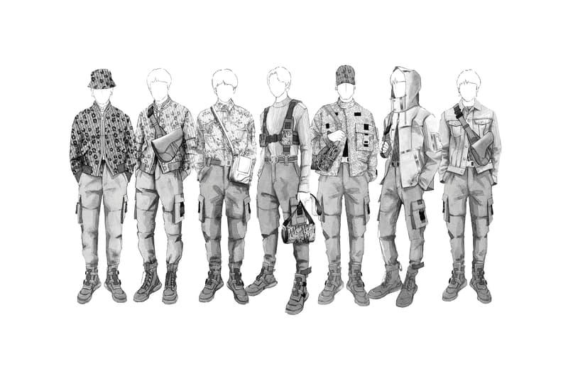 強強聯手!韓國男子組合 BTS 獲 Kim Jones 設計巡迴演唱會舞台服裝