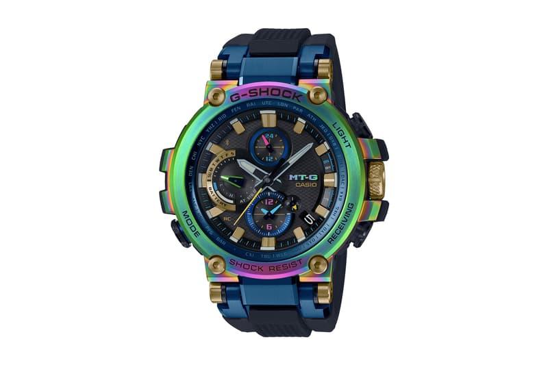黑夜彩虹 − G-SHOCK 最新 20 週年幻彩錶殼 MT-G 手錶台灣發售情報公開