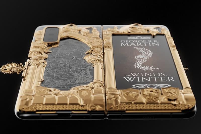 Caviar 打造《Game of Thrones》主題定製版本 Samsung Galaxy Fold