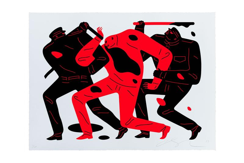藝術家 Cleon Peterson 發佈「THE DISAPPEARED」限量印刷作品