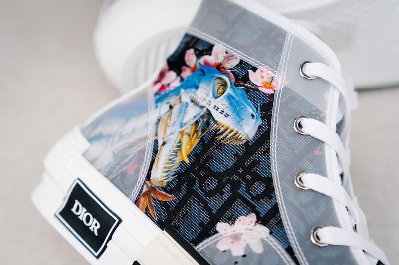 近賞空山基 x Dior 全新聯乘 B23 高筒運動鞋