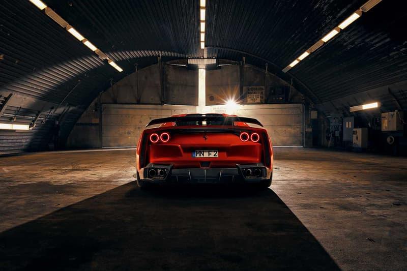 NOVITEC 打造 Ferrari 812 Superfast 寬體改裝車型