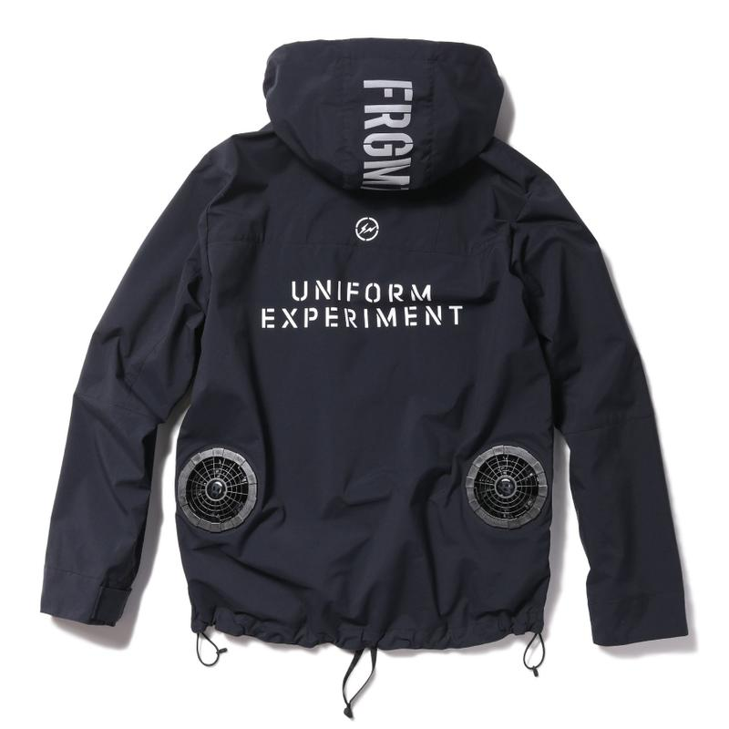 fragment design x uniform experiment 全新聯乘系列完整揭曉