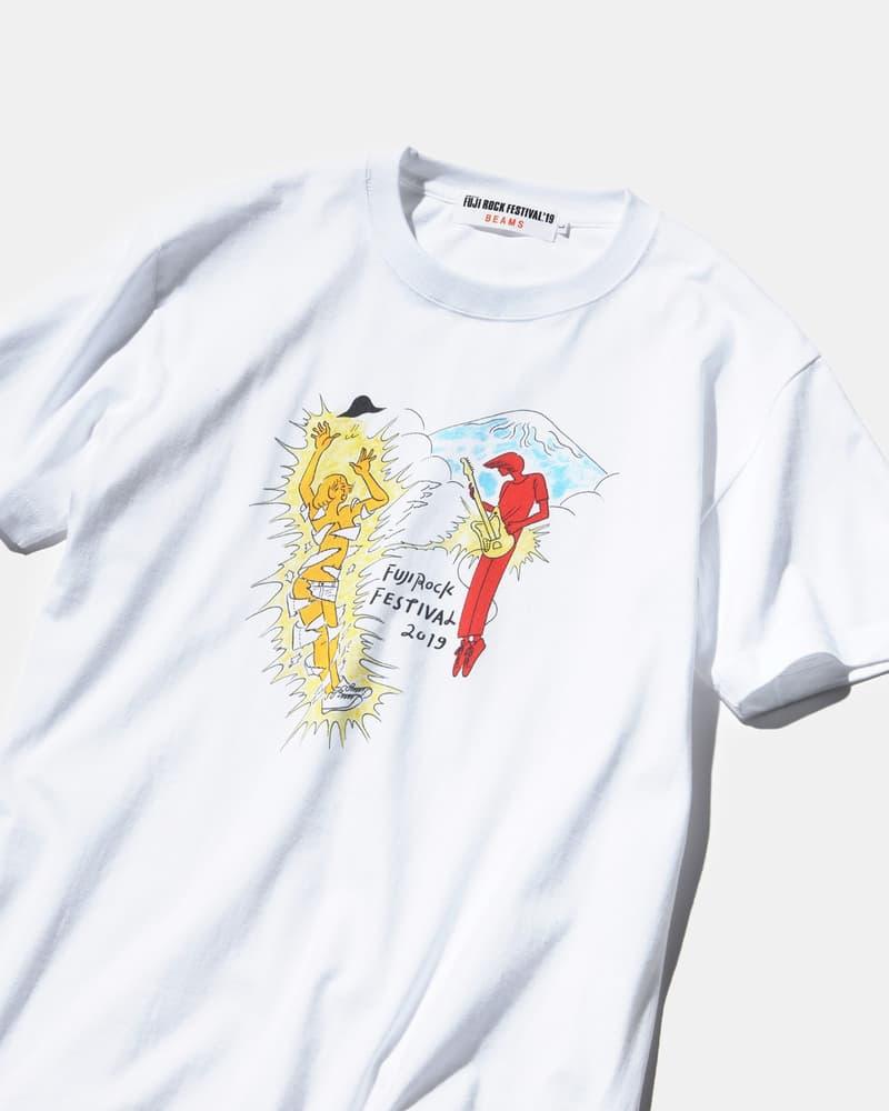 BEAMS x Fuji Rock 2019 聯乘限定 T-Shirt 系列登場