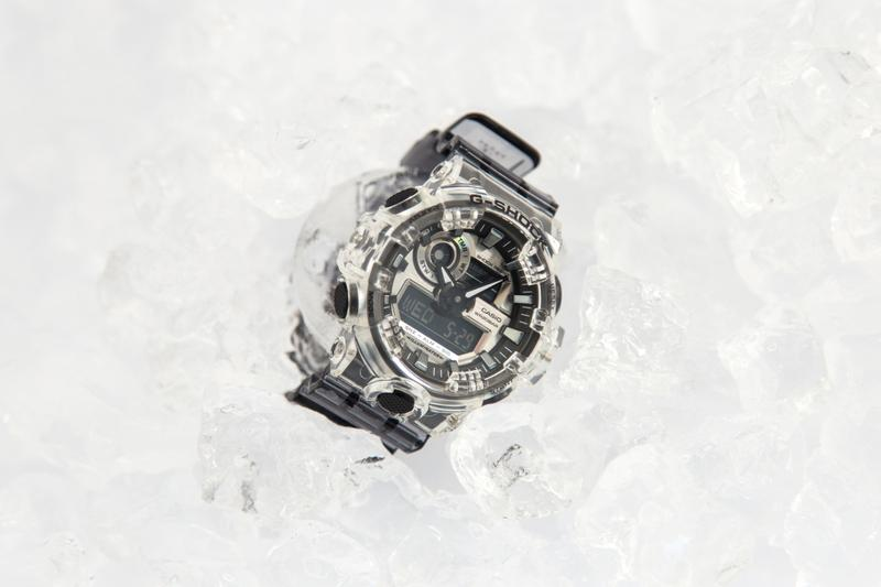 近賞 G-SHOCK 全新「Clear Skeleton」冰韌別注系列