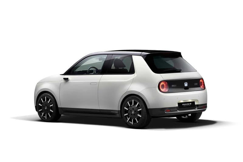 Honda 公開電能小車「Honda E」的 5 款不同配色