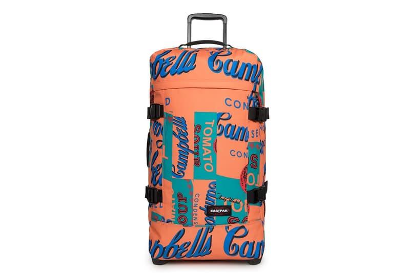 Andy Warhol x Eastpak 迎來「金寶湯罐頭」聯乘包款系列