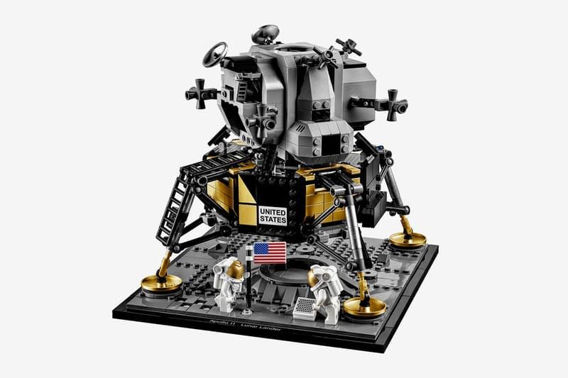 登月 50 年-LEGO 聯手 NASA 推出當年登月號 Apollo 11 玩具模型