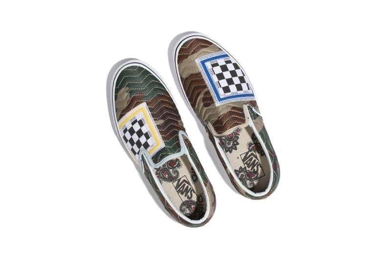 不平衡之格調-Vans 打造迷彩間棉 Slip-On 鞋款
