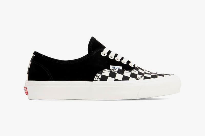 Vans Vault 推出「Checkerboard Pack」OG Authentic LX  鞋款