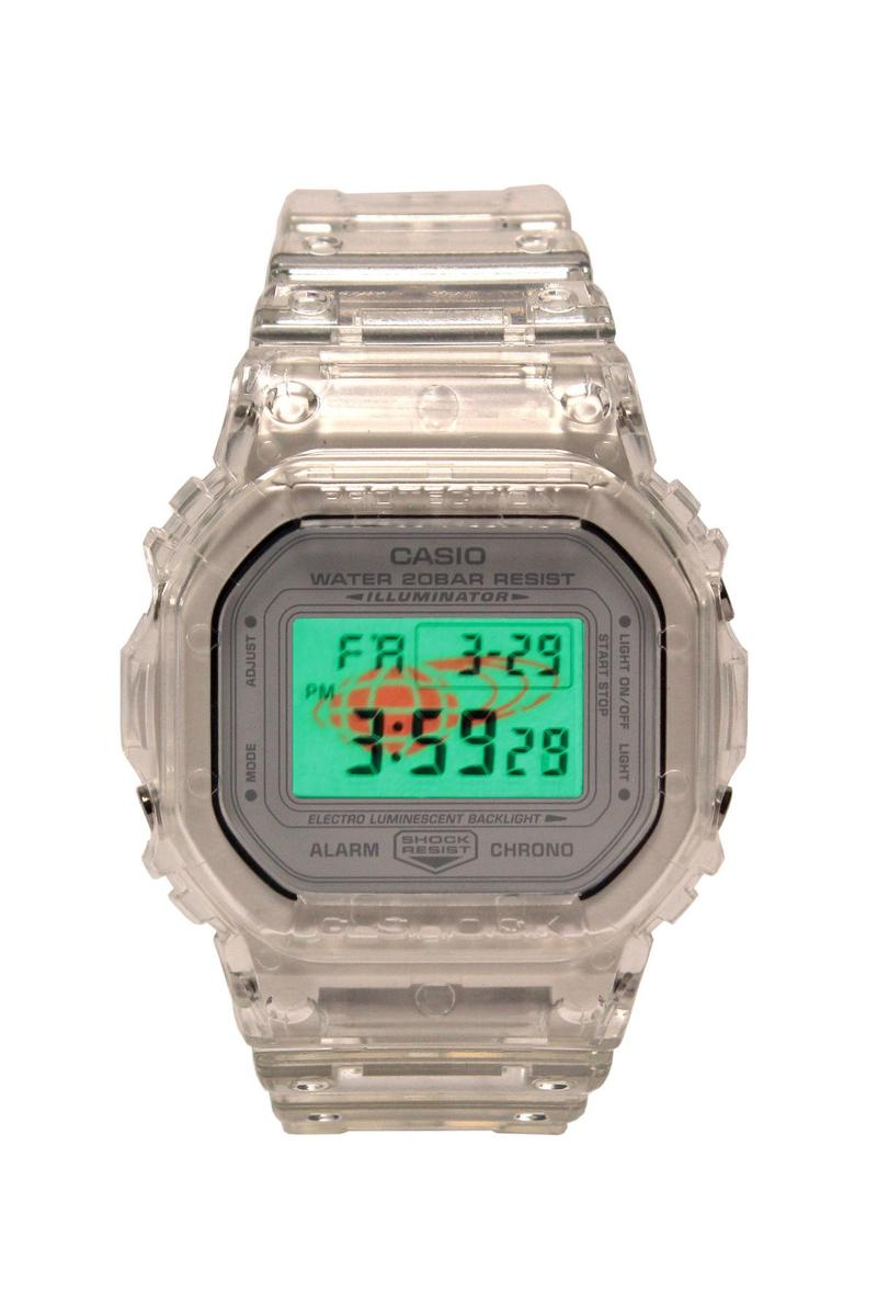 BEAMS x G-Shock 全新聯名透明 DW-5600 錶款發佈