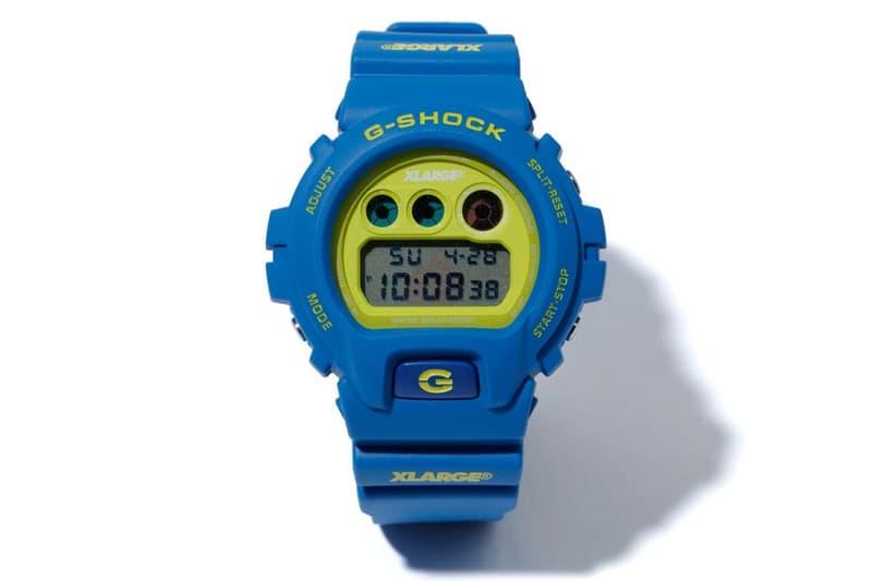 G-Shock x X-Large 攜手打造夏之配色 DW-6900 聯名錶款