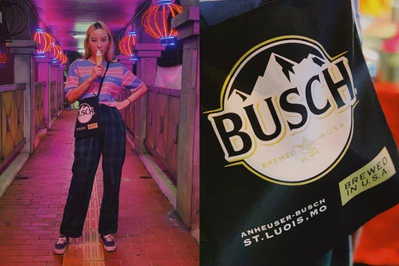 英國品牌 HYPE 釋出「BUSCH 雪山啤酒」聯名包款