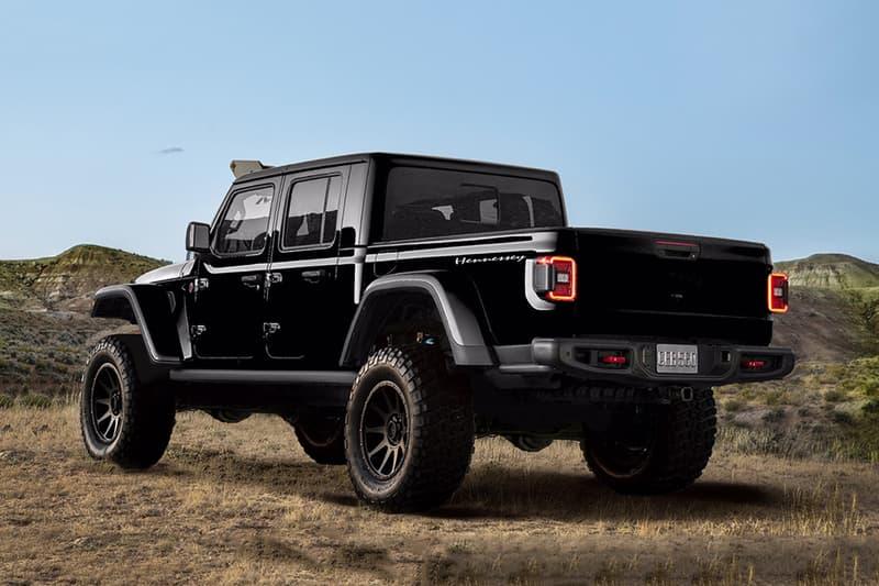 Hennessey 打造千匹馬力 Jeep Gladiator 全新改裝車型