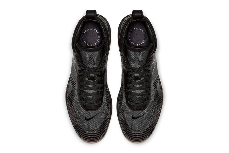 John Elliott x Nike 全新聯乘 LeBron Icon QS「Triple Black」配色發售詳情公開