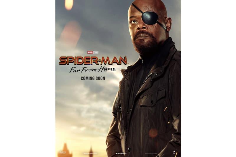 Marvel 最新大作《Spider Man : Far From Home》最新電影角色海報搶先曝光