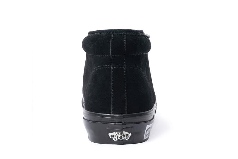 N.HOOLYWOOD x Vans 全新聯乘 Chukka Boot 鞋款發佈