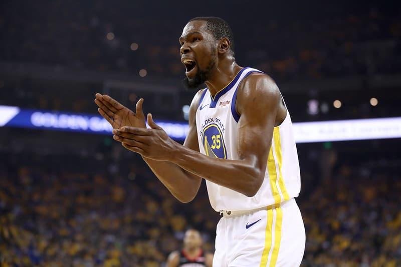 NBA 季後賽 2019 − Kevin Durant 確認缺席 Warriors Vs. Raptors 總冠軍賽第一戰