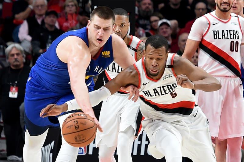 NBA 季後賽 2019 − Trail Blazers 血戰 4 回延長賽擊敗 Nuggets