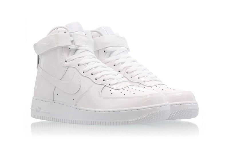 搶先預覽 Nike Air Force 1 High「Sheed」全新白色漆皮版本
