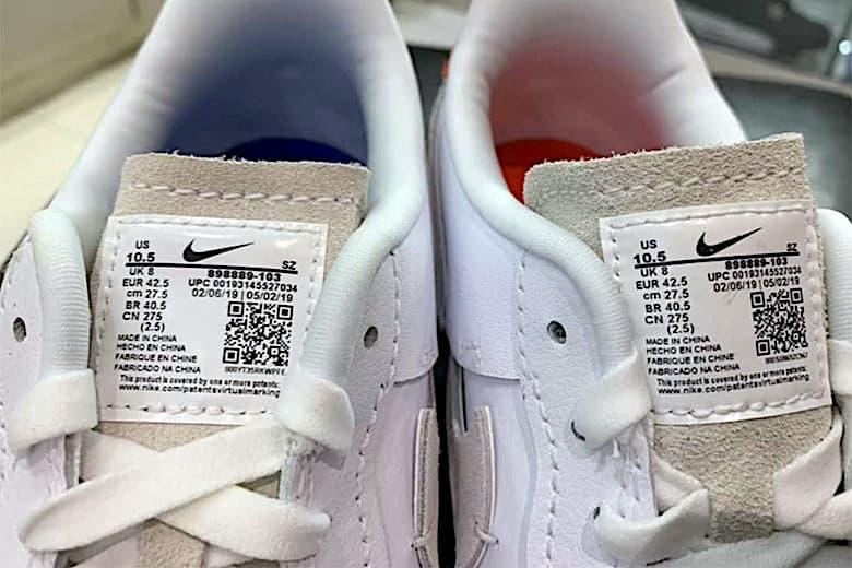 Nike Air Force 1「Inside Out」別注設計諜照曝光