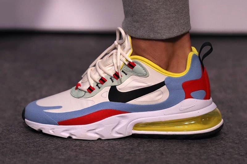 搶先預覽 Nike 全新「混血」跑鞋 Air Max 270 React